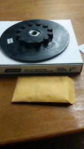 "BRAND NEW  -  7"" Norton Speed-Lok Backup Pad"