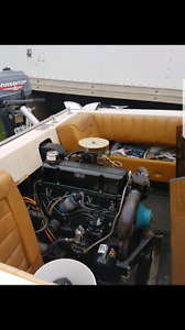 120HP mercruiser inboard motor or whole boat