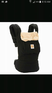 Brand New baby ergo carrier black