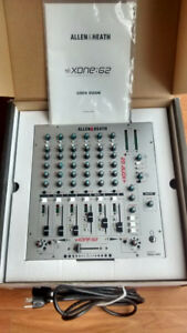 ALLEN & HEATH XONE 62 PROFESSIONAL DJ MIXER