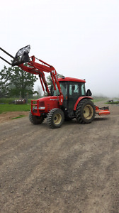2009 branson 6530  with loader! 65 hp with cab