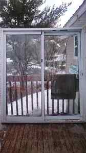 6ft sliding patio door with 4 1/2 inch frame