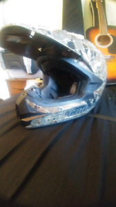 Camo Can-Am med size helmet