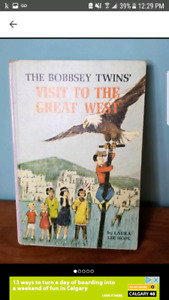 Vintage The Bobbsey Twins Book