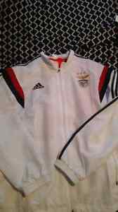 Brand new  with tags  benfica  addidas  track suit Cambridge Kitchener Area image 1