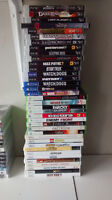 ps4,ps3,wii and xbox 360 games for sale...selling as a bundle