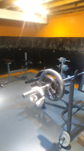 Total weight set up
