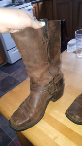 Leather boots from the Western Boutique Downtown St John's