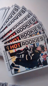 2012-13 Complete Score Hot Rookies Hockey cards