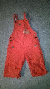 Overall shorts 4T Like new