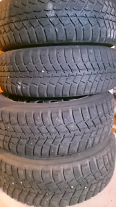 """14"""" WINTER TIRES AND RIMS"""