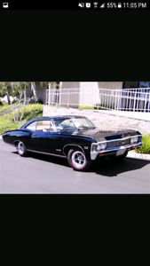 Looking for 1967 Chevrolet impala or Chevrolet Caprice