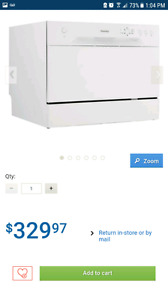 Danby Counter Top Dishwasher