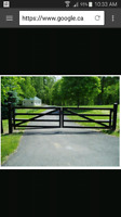 Welder Wanted! Someone to fab and install driveway gate