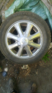 Good set of Tires on Rims