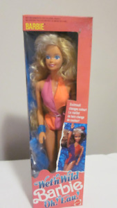 1989 Wet'n Wild Oh! Eau!  Barbie doll
