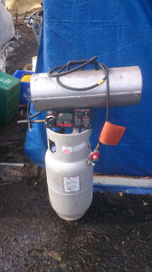 COMMERCIAL FORCED AIR PROPANE HEATER