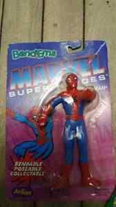 Marvel Spider-Man Bendables Collectable Poseable Figures Vintage