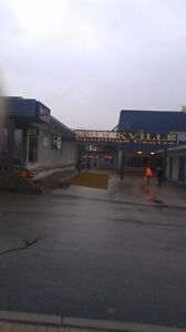 Last unit in the Brockville Shopping Centre-courtyard