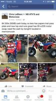 84 200x crf230 swap for sale has papers!
