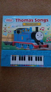 Thomas Songs Play and Learn Piano Book
