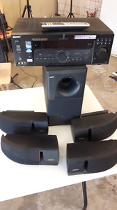 Bose speakers and stereo