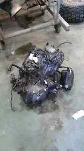 Raptor 660 motor and other parts.