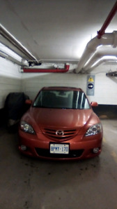 2004 Mazda 3 hatch - Great on gas, manual with Bluetooth and two