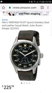 Szanto watch worn 3 times