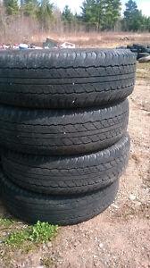 Four Dunlop Grand Trec P245 75 16 all season tires