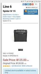 Like new line 6 spyder IV  15 watt