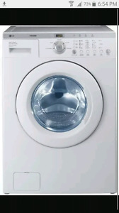 LG TROMM WASHER   WANTED