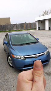 2008 HONDA CIVIC $4000 CASH AS IS TODAY! WON'T LAST
