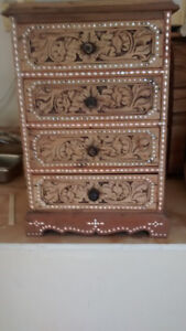Drawer chest handcrafted  ~ 12 x 19 x 7 inches