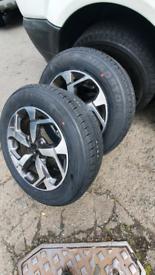 2 x 215 65 16c van tyres 9mm tread Free mobile tyre fitting