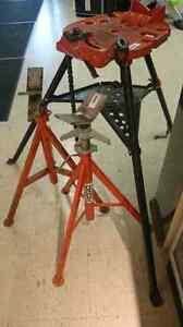 Ridgid pipe fitting tools. Tristand etc.  Windsor Region Ontario image 3