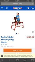 Spring/rocking horse for sale