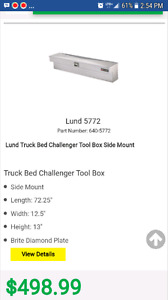 Two Challenger side mount tool boxes