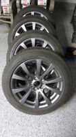 "OEM BMW 298M Winter Rims Tires X5M / X6M 19"" M Sport Ferric Grey"