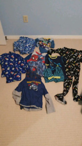 pants and top boys pjs 10 sets size 7/8