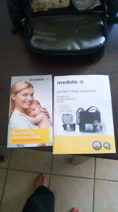 Medela double in style breast pump