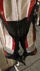 Motorcycle race leathers