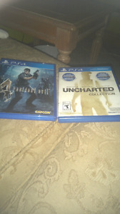 Selling 2 ps4 games 15 each