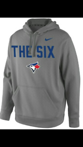 """Toronto Blue Jays """"THE SIX"""" Therma-Fit Hoodie LIKE NEW $20.00"""