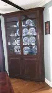 For sale corner cabinet and sideboard