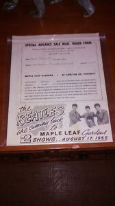 WANTED BEATLES MEMORABILIA FROM THE 1960's