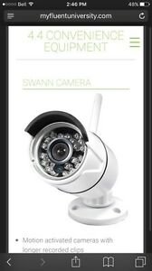Home security Cameras and Alarm system with Monitoring