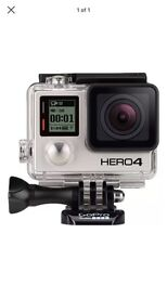 GoPro hero 4 silver HD brand new sealed
