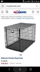 Large Dog Crate Barely Used