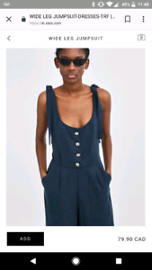 BRAND NEW ZARA JUMPSUIT